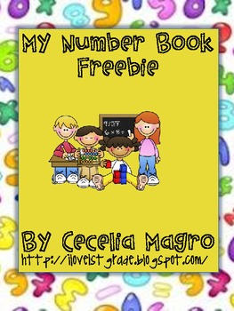My Number Book Freebie