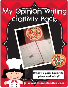 My Opinion Writing Pizza Pack