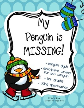 My Penguin is Lost! (Glyph, Descriptive Writing, Graphing,