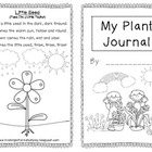 My Plant Journal for Young Learners