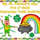 My Pot o' Gold Character Traits Activity