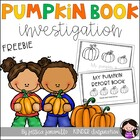 My Pumpkin Report Book