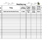 My Reading Log