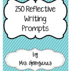 {250 Reflective Writing Prompts}