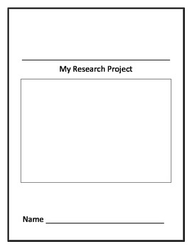 My Research Project- Template Pages