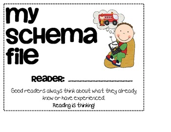 My Schema File:  Thinking While Reading