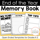 My School Memories {An End-of-Year Memory Book}