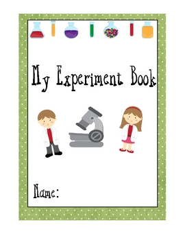 My Science Experiment Book