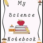 My Science Notebook Cover