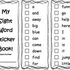 My Sight Word Mastery Books - Dolch Words Pre-Primer through 3rd