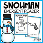 My Snowman {Emergent Reader}
