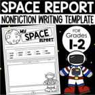 My Space Report {Research Template for Primary Students}