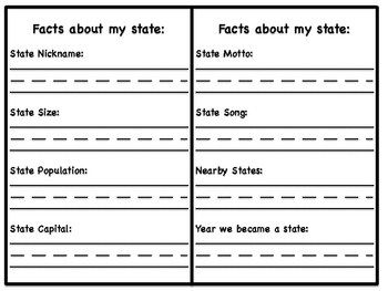 My State Info Booklet