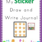 My Sticker!  Draw & Write Book