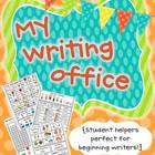 My Student Office {Student Helpers Perfect for Beginning W