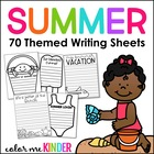 My Summer Snapshot! Back-to-School Writing Craftivity