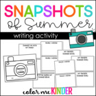 My Summer Snapshot Mini Book Fun