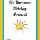 My Summer Writing Journal Freebie