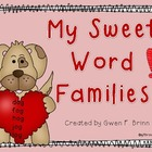 My Sweet Word Families