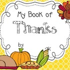 My Thankful Book 2 - Thanksgiving Literacy &amp; Social Studies Fun!