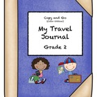 My Travel Journal, Grade 2 Copy and Go Edition