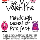 My Valentine Playdough Monster: Writing Activities