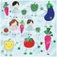 My Vegitable friends clipart set