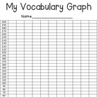 My Vocabulary Graph for Student Data Notebooks