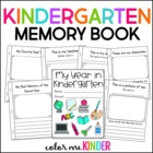 My Year in Kindergarten: A Memory Booklet