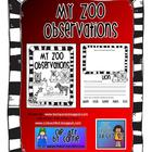 My Zoo Observations Book