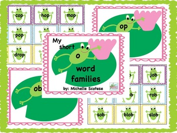 My short o word families