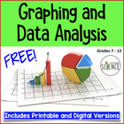 Mycorrhizae (Fungi) Graphing and Data Analysis Worksheet  FREE