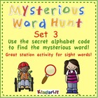 Mysterious Word Hunt - Set 3