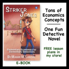 Mystery Novel that Teaches Economic Concepts - E-book