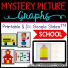 Mystery Picture Graphs - Back to School Pack