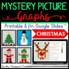 Mystery Picture Graphs - Christmas Pack