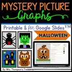 Mystery Picture Graphs - Halloween Pack