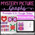 Mystery Picture Graphs - Valentine's Day Pack