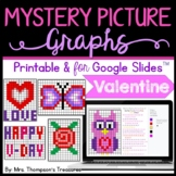 Mystery Picture Graphs - Valentine's Day Math Pack