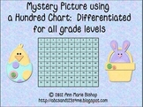 Mystery Picture using 100 Chart (Easter)