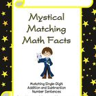 Mystical Matching Math Facts