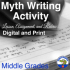 Myth Writing Lesson for Middle School