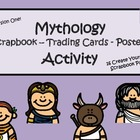 Greek Mythology Scrapbook/Trading Cards/Posters Activity (