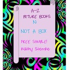 N is for Not a Box FREE sample A-Z Picture Book Activities