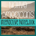 NATIVE AMERICANS- Social Studies Notebooking- COMPLETE UNIT