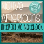 NATIVE AMERICANS- Social Studies Notebooking- Intro &amp; Voca