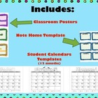 NEW!! 2013-2014 Behavior Calendar System ENGLISH VERSION