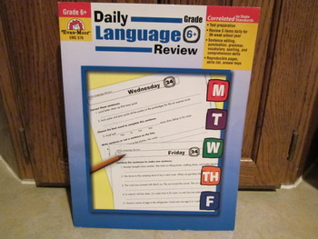 NEW:  Daily Language Review Grade 6+ by Evan-Moor