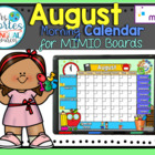 NEW!! MIMIO Calendar Math- August (English)