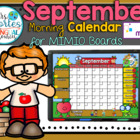 NEW!! MIMIO Calendar Math- September (English)
